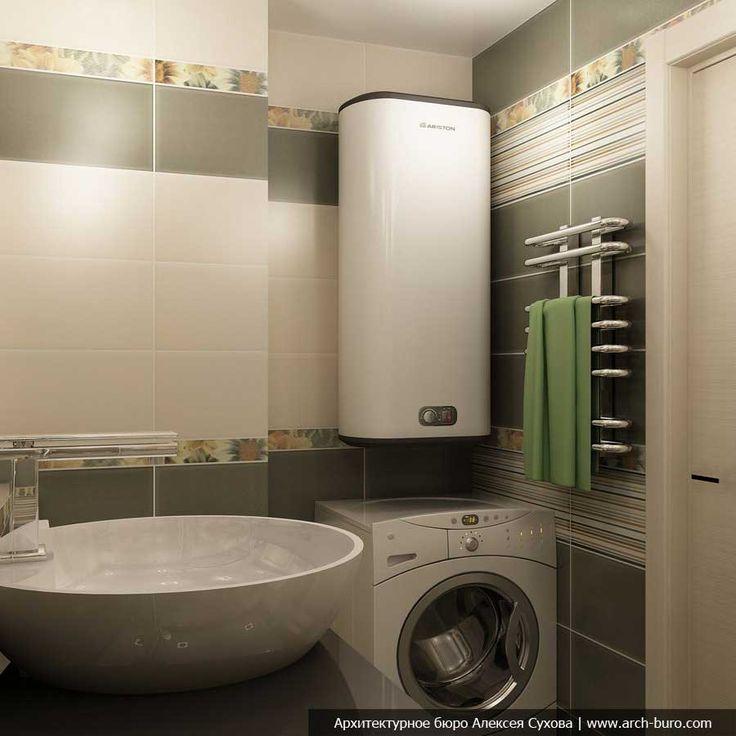 Классическое оформление ванной комнаты в теплых тонах. #дизайн_ванной #накладная_раковина #бежевая_ванная_комната #плитка_в_ванную #сантехника_для_ванны #полотенцесушитель