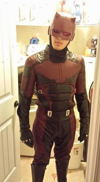 Marvel Daredevil Cosplay Costume