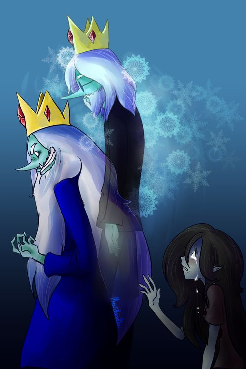 Adventure time - Simon / Ice king & Betty