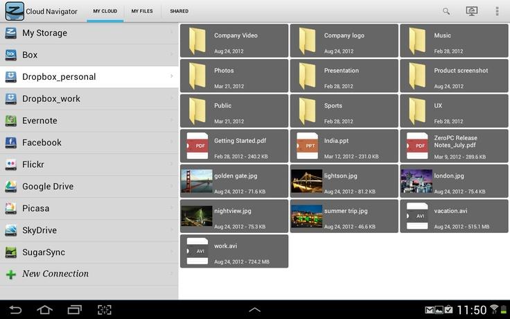 ZeroDesktop bulut hizmetleri yönetim sistemi için dört yeni mobil uygulama geldi