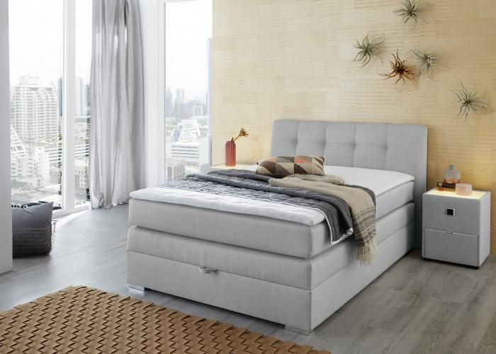 Collectie Prima-Lux en Idee+: boxspring met opbergkoffer