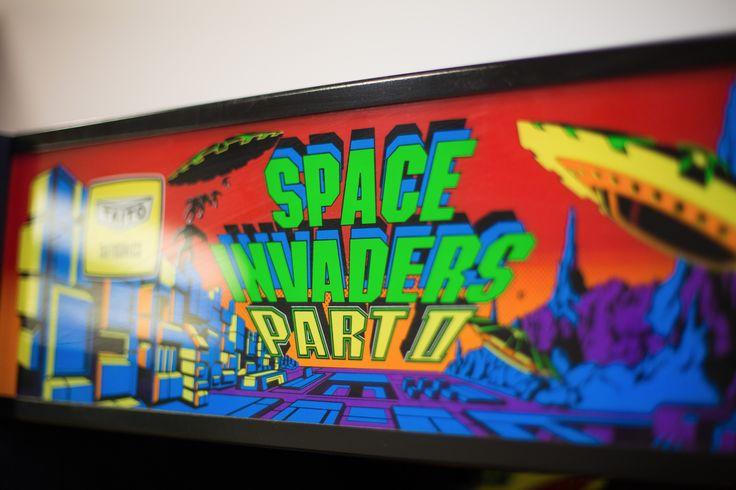 Pow, pow, pow. You've got to love a classic arcade machine  www.sales-i.com