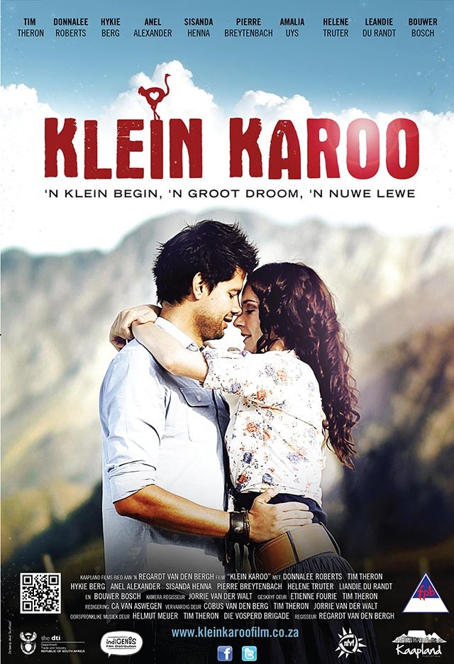 Klein Karoo is a charming Afrikaans romantic comedy set in the beautiful Swartberg, just outside Oudtshoorn.