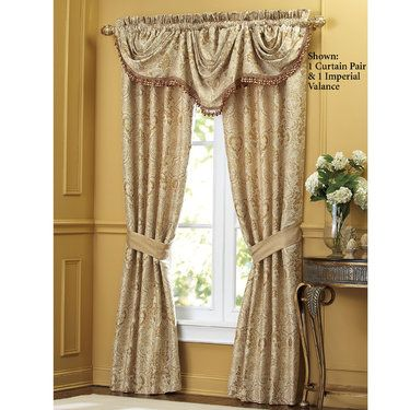 Excelsior Window Treatment By Croscill Designing A Room Pinterest Window Treatments