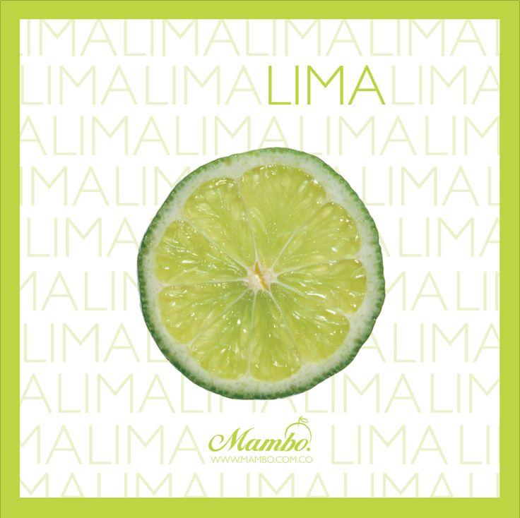 Lima, complemento ideal para cócteles y jugos. Frutas y verduras Mambo Cartagena de Indias www.mambo.com.co