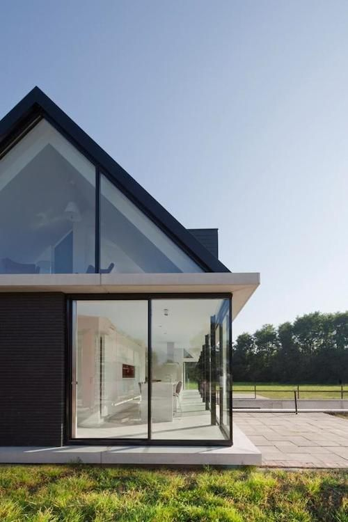 double pitched roof cantilever - Google Search