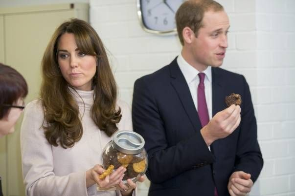 Kate Middleton was on a drip at King Edward VII Hospital in central London this evening after falling ill with acute morning sickness