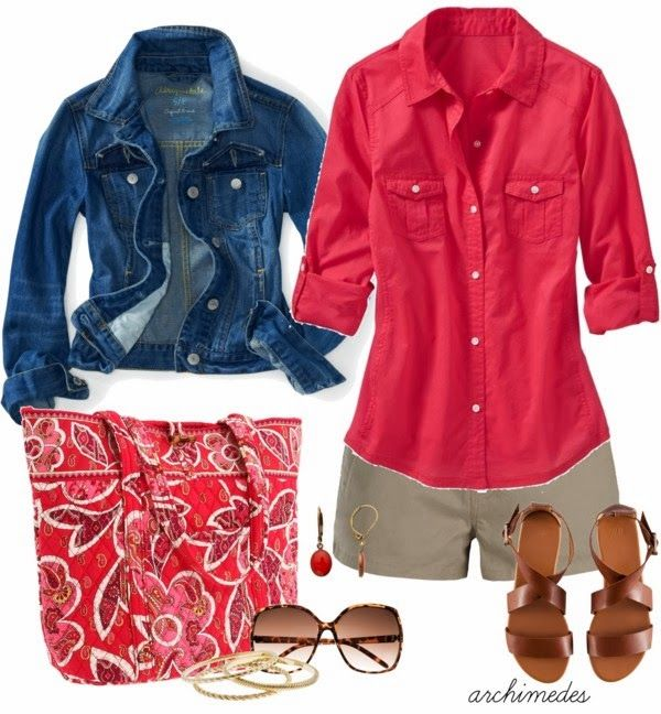 Casual OutfitSummer Dresses, Casual Outfit, Handbags, Jeans Jackets, Colors, Jean Jackets, Summer Outfits, Fashionista Trends, Shorts