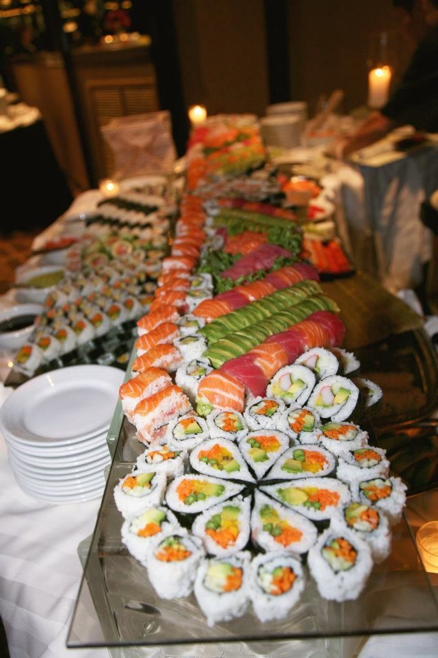 Sushi www.thesandsatlanticbeach.com