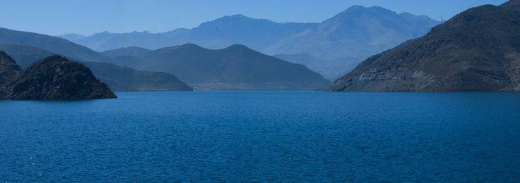 Embalse Puclaro, IV región, Chile.