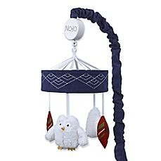 NoJo® Teepee Musical Mobile in Navy/Red