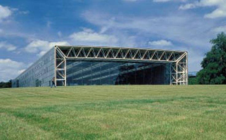 Sainsbury Centre for Visual Arts, University of East Anglia, UK, 1977, by Sir Norman Foster, Pritzker Prize Laureate