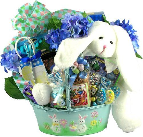 100 best gifts baskets images on pinterest easter gift baskets our cottontail collection deluxe is an absolutely adorable easter gift basket and comes in your choice of pink for girls or blue for boys negle Choice Image