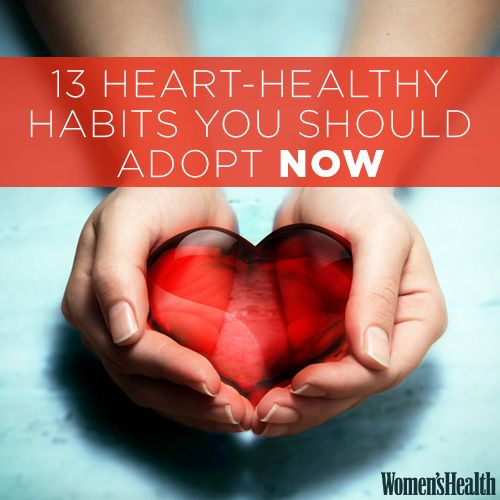 13 Habits You Need to Lock Down NOW to Keep Your Heart Healthy LATER http://www.womenshealthmag.com/health/heart-healthy-habits