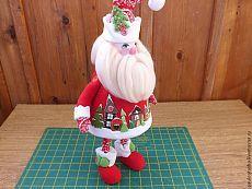 Шьем Деда Мороза из флиса | Сделай сам!