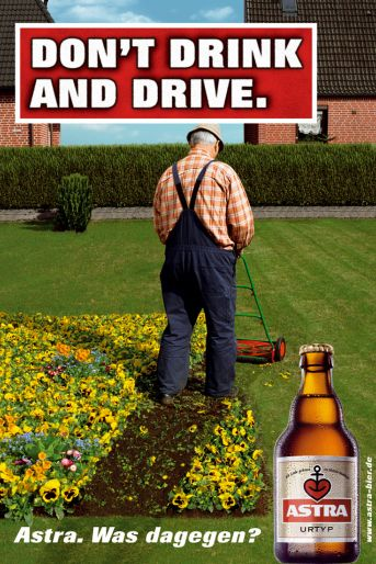 Don't drink and drive - Astra