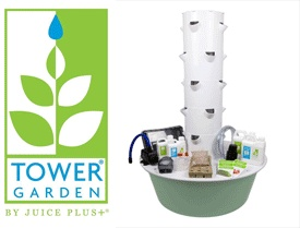 Easily Grow Up To 20 Vegetables Herbs Fruits And Flowers In Less Than 3 Sq Indoors Or Out With Tower Garden A Vertical Aeroponic Growing System