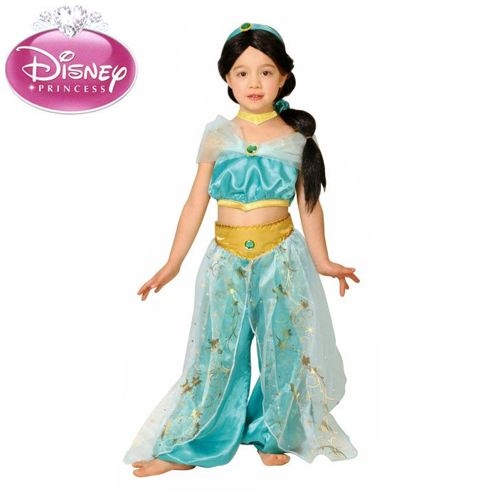monolog halloween costumes kids girls disney costume dx jasmine and aladdin jasmine child princess disneyland halloween outfit costume halloween - Kids Disney Halloween Costumes