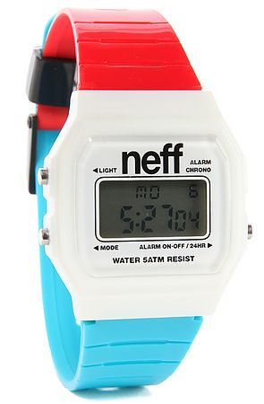 NEFF Watch Flava in Red, White, and Blue - Karmaloop.com