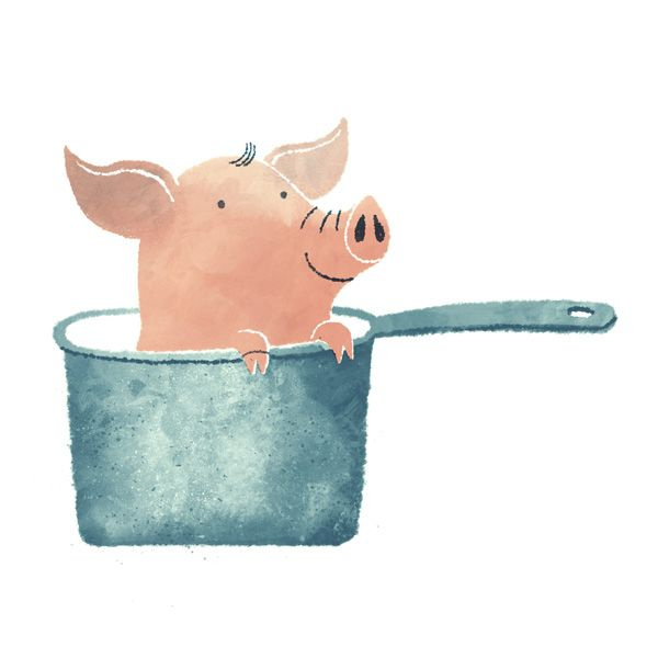 Pigs are just too much fun. - Green Ink