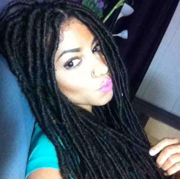 37 best fake dreads images on pinterest braids beautiful temporary loc extensions pmusecretfo Choice Image