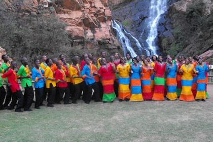 Walter Sisulu Botanical Gardens. A perfect setting for our Leadership Reflection Session (Emzingo NexGen program)