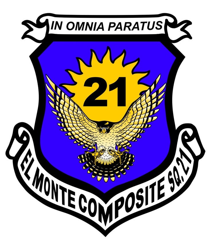 El Monte Composite Squadron, California Wing CAP Patches