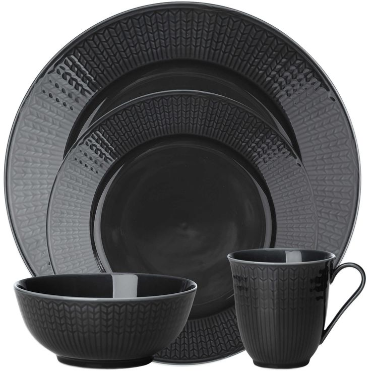 Rörstrand Swedish Grace Dinnerware in Stone