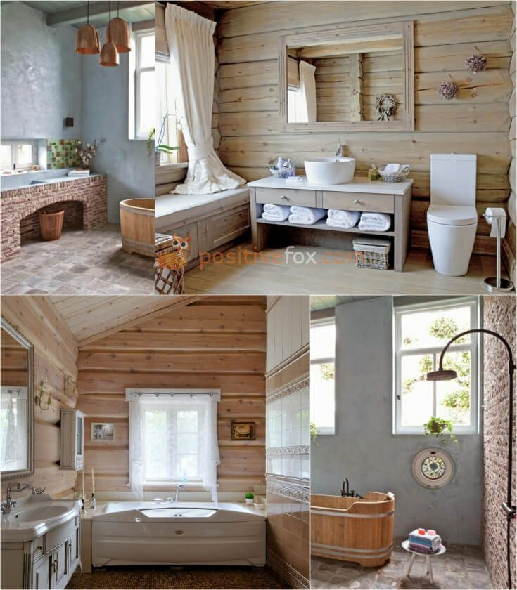 Country Style Bathroom Interior Design. Country Bathroom. Explore more Country Bathroom Ideas on https://positivefox.com #countrybathroomideas  #countrybathroom #bathroomideas #barthroom #countryhomeideas #homeideas #collage #smallbathroomideas #woodbathroom #woodenbathroom #rusticbathroom #rusticinteriordesign
