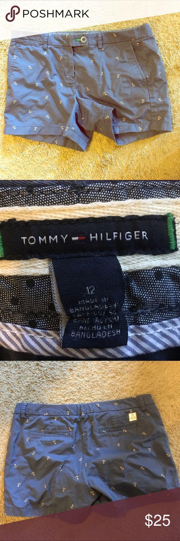 Tommy Hilfiger Navy Blue Shorts Anchor ⚓️ 12 Tommy Hilfiger Navy Blue Shorts Anchor ⚓️ 12 Tommy Hilfiger Shorts