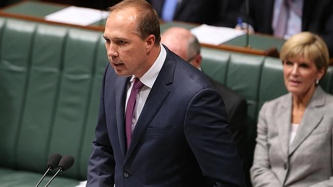 """Mr Abbott, Ms Bishop and Mr Dutton all cited """"intelligence,security and operational matters"""" in their refusal to answer the questions."""