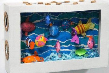 Dit leuke aquarium kan een erg leuke #surprise zijn om te maken voor #Sinterklaas