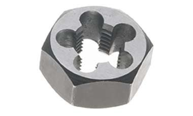10mm x 1.25 Carbon Steel Hex Rethreading Die