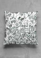 birichino pillow 7 bn: What a beautiful product! NOTE: Each piece is uniquely designed and custom-printed.