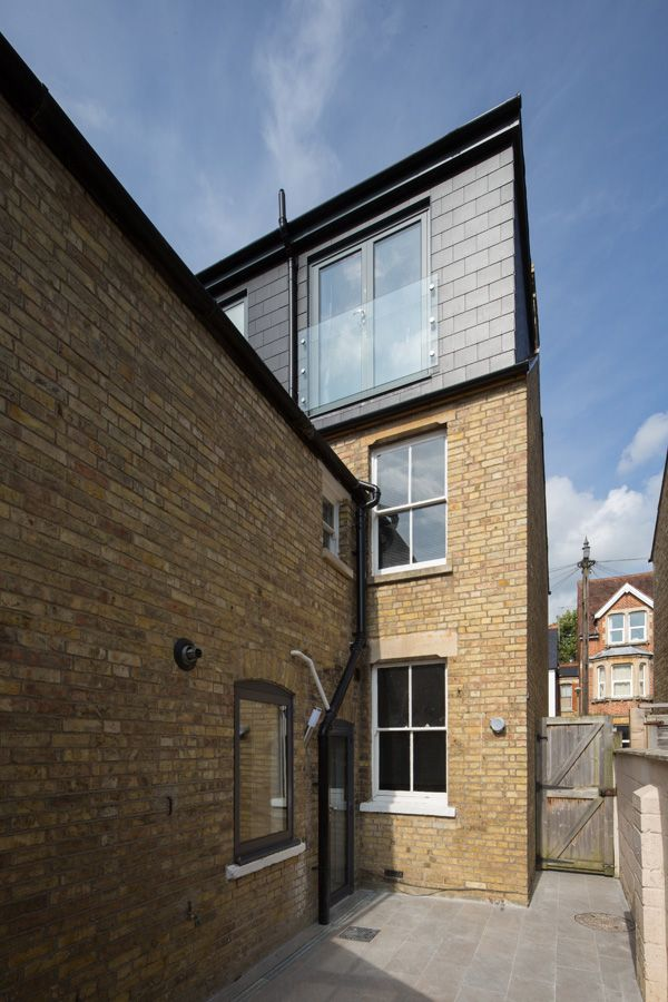 I like this style of glazed Juliette balcony on the loft conversion