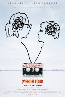 The End of the Tour / HU DVD 12873 / http://catalog.wrlc.org/cgi-bin/Pwebrecon.cgi?BBID=15521661