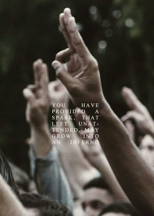 Catching Fire - It was much better then the first one with much more of the book in it. I strongly advise you to see it!