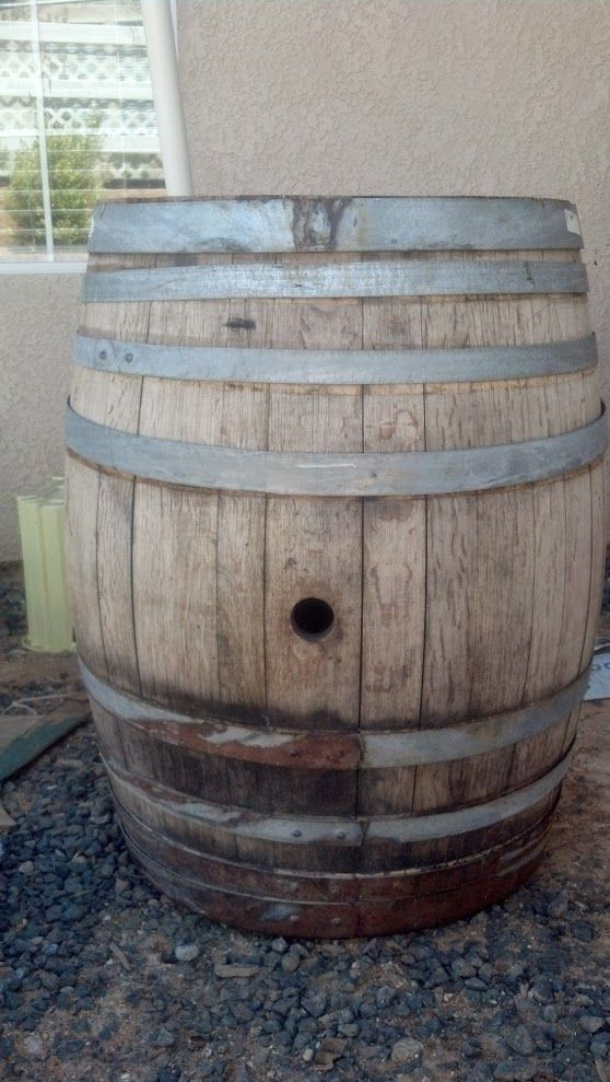 wine barrel refinish step by step
