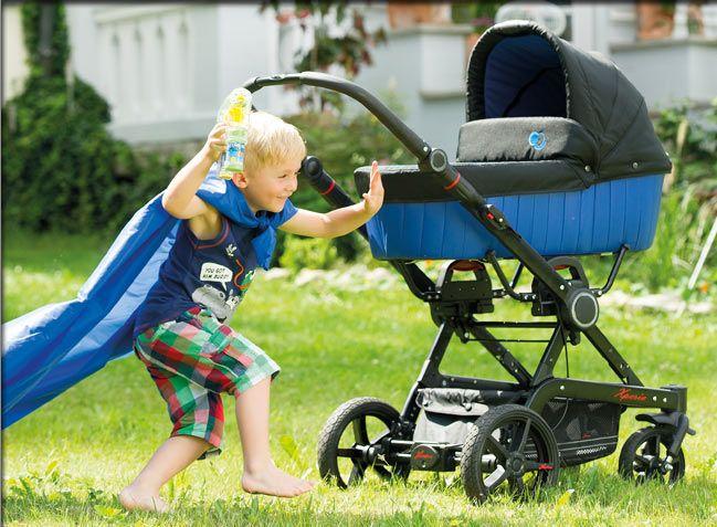 Hartan – wózki dziecięce. Producent wózków dziecięcych z gondolą i spacerówek.