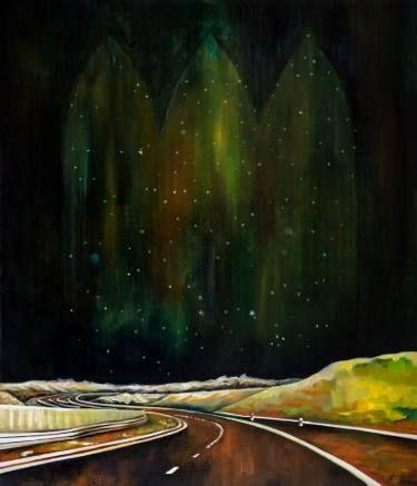 "Saatchi Art Artist Oksana Reznik; Painting, ""Stellar"" #art"