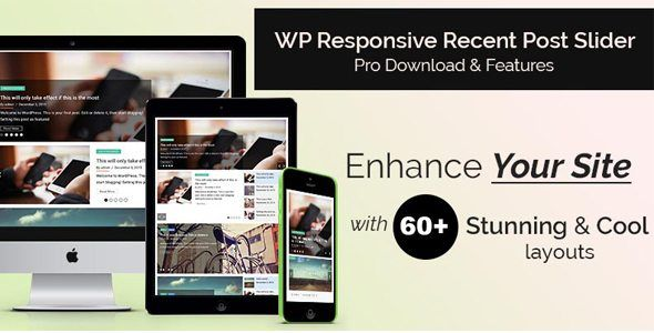 Download Responsive Recent Post Slider Pro Nulled Latest Version