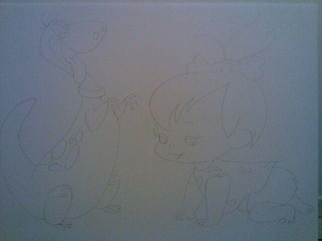 Dino y Pebbles