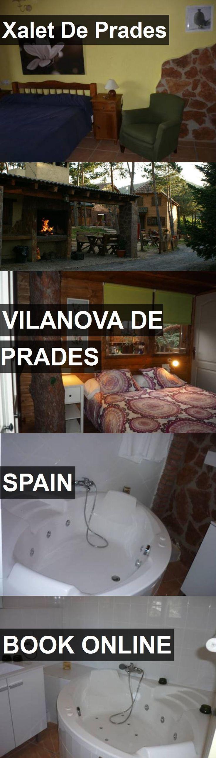Hotel Xalet De Prades in Vilanova de Prades, Spain. For more information, photos, reviews and best prices please follow the link. #Spain #VilanovadePrades #travel #vacation #hotel