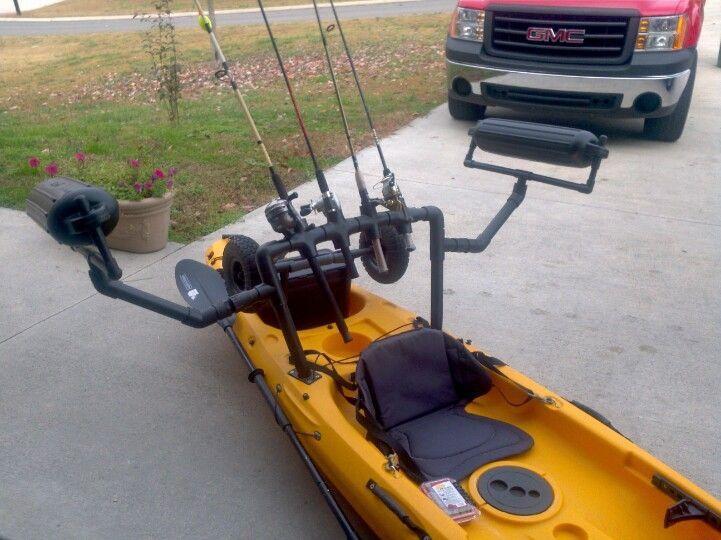 Field and stream eagle talon modified kayak fishing for Field and stream fishing kayak
