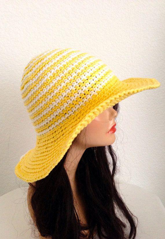 Free Pattern Crochet Wide Brim Hat : 1000+ images about Crochet cap on Pinterest Picnics ...
