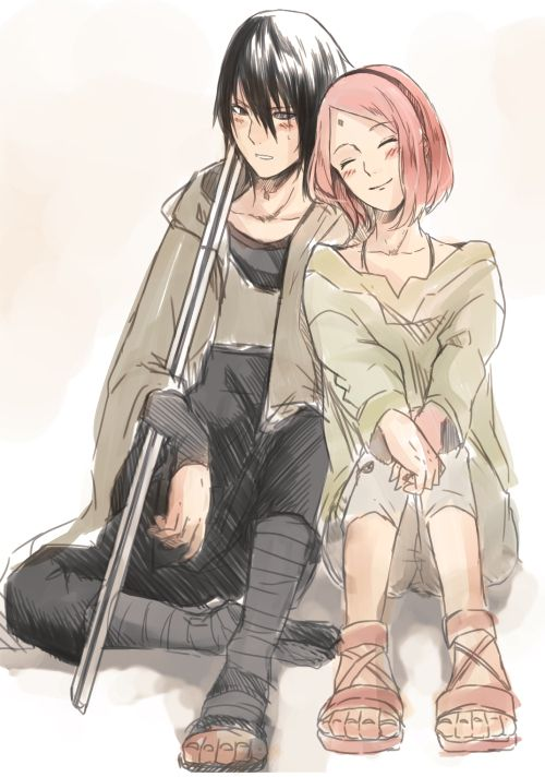 sweet couple sasuke uchiha - photo #30
