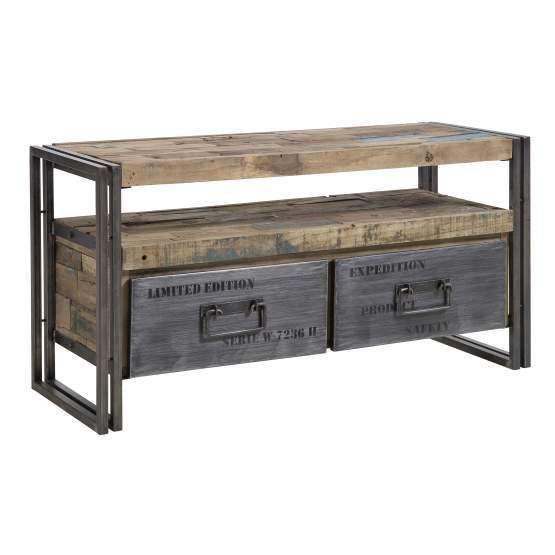 d-Bodhi tv-meubel Ferum, 2 laden, 1 open vak d-Bodhi Ferum Collection Kasten