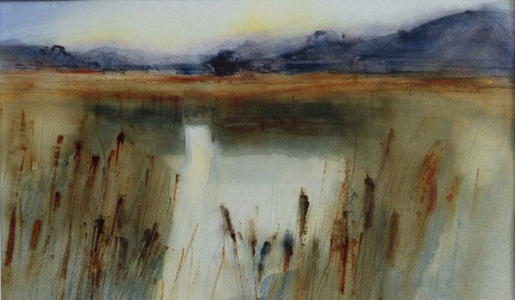 Minsmere - Sara Johnson | Loose watercolor landscapes in ...