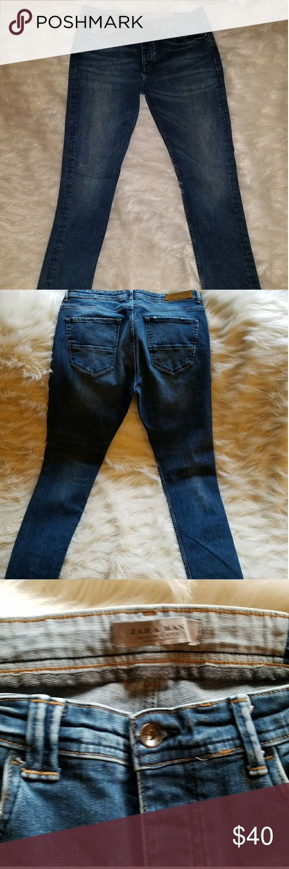Zara Man Skinny Jeans prrviously loved Like New Super Skinny No Trades or Holds  Offers Welcome Zara Jeans