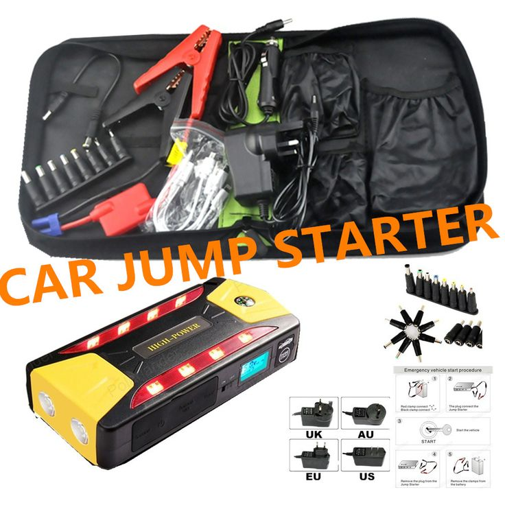 Ikeacasa Batería Batteria Batterie High Quality 12V Portable Mini Jump Starter Car Jumper Booster Power Bank for Petrol and Diesel